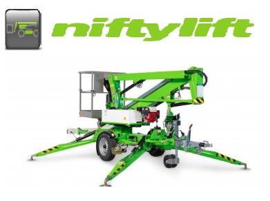 Niftylift trailer mounted lifts